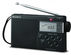 RADIO SONY ICF-M260 ( AM/ FM/ TV digital tuning radio )