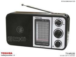 ĐÀI RADIO TOSHIBA TY-HRU30 FM/AM/SW1-6/ ĐỌC USB