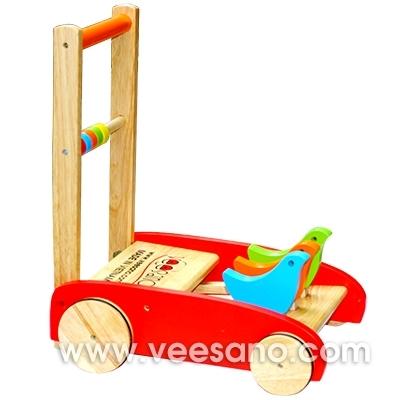 Xe tập đi gỗ hình con chim Veesano VM233