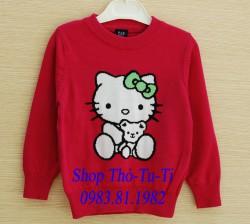 1535. Áo len Baby Gap Kitty size to màu hồng