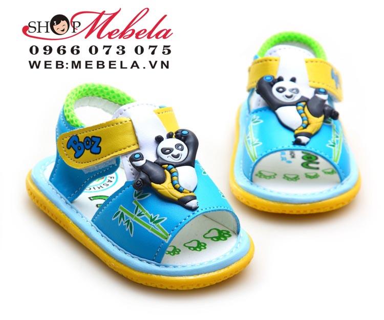 XD39 Xăng đan Kungfu Panda cho bé 18tháng trở xuống size 13 đến 17