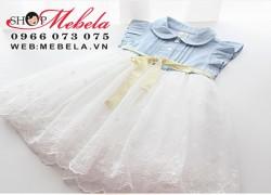 V123 Váy chân ren hoa cho bé 10 đến 16 cân