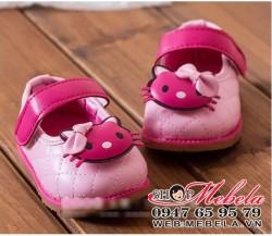 G46 Giầy Hello Kitty cho bé chân dài 10,5 đến 13cm (khoảng 6tháng đến 2 tuổi)