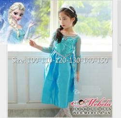 V224 Váy nữ hoàng ELSA  - Frozen