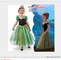 V225 Váy công chúa ANNA - FROZEN