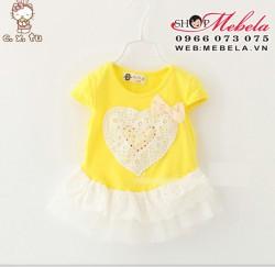 V292 - Váy tim cho bé 11-17kg
