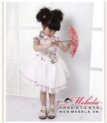 V354 Váy kiểu sườn xám cho bé gái 2,5 đến 6 tuổi