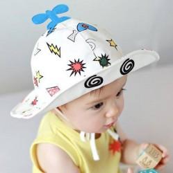 M37 - Mũ vành hình cánh quạt cho bé 1 tuổi trở xuống