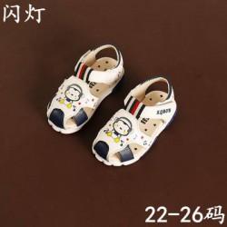 XD81 Sandal rọ trắng hình khỉ cho bé size 22-26, 1-3 tuổi