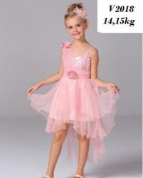 V2111- Váy đầm đuôi cá dự tiệc màu hồng cho bé 14,15kg