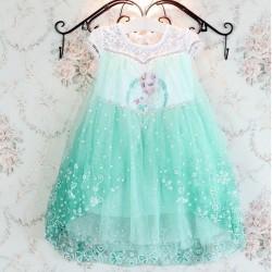 V429 - Váy elsa , nữ hoàng băng giá Flozen cho bé gái 13 - 26kg, 2.5 - 7t, size 100 - 150