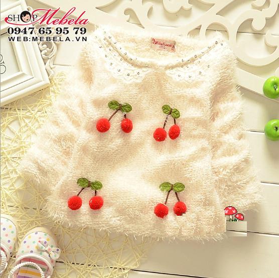 AG518  Áo lông lót lông quả seri mềm ấm cho bé 9,11,13,15 kg (khoảng 9 tháng đến 3 tuổi)