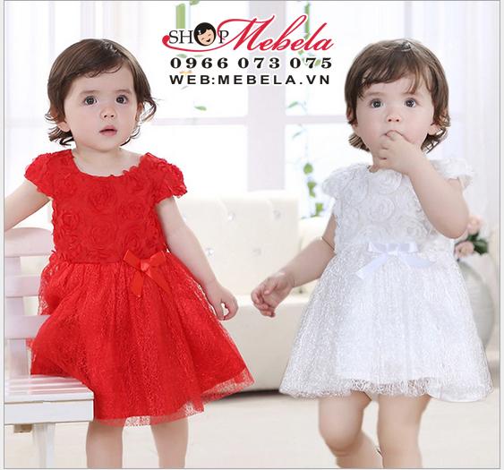 V197 Váy công chúa cực xinh cho bé 5 đến 11kg (1 đến 18th)