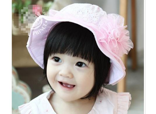 M33 - Mũ hoa hồng cho bé 1 tuổi trở xuống
