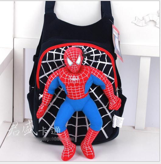 BL21 Balo siêu nhân người nhện cho bé 35x30cm (loại to)