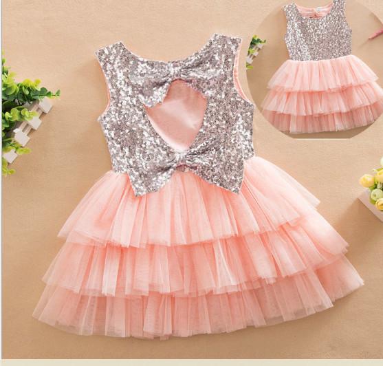 V2115 - Váy kim sa 3 tầng cho bé 13-18kg; 2,5t - 4t; sz 90 - 130