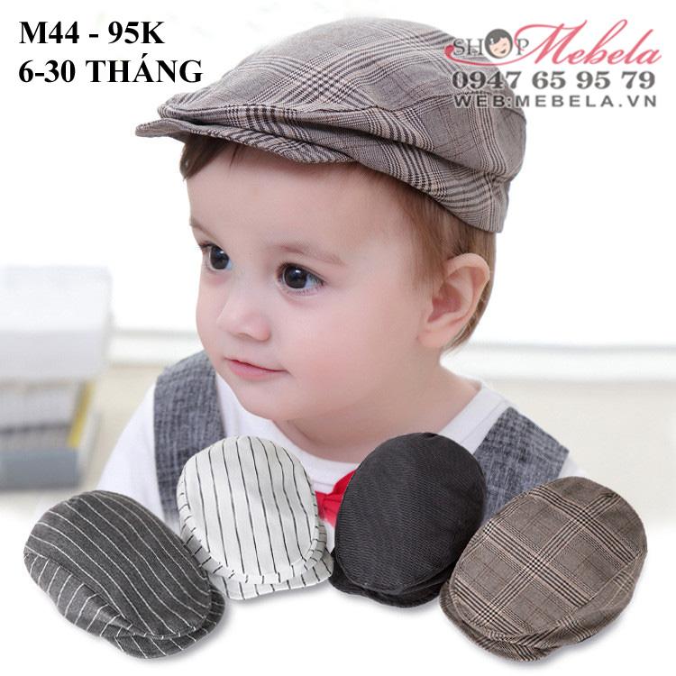 M44- Mũ cat- ket cho bé 6-30 tháng