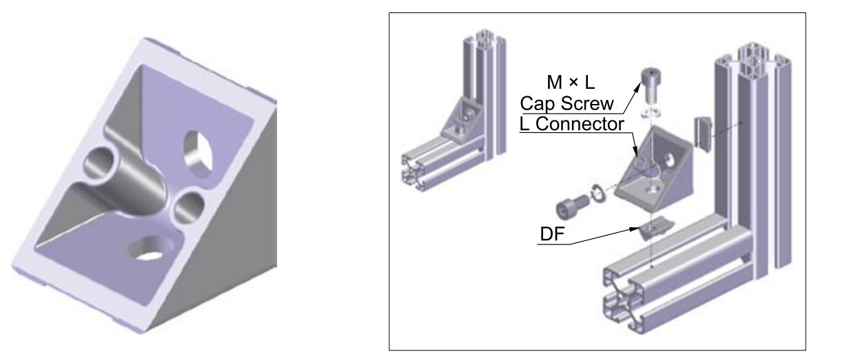 L CONNECTOR