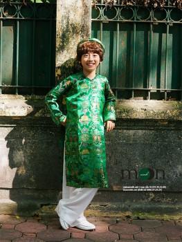 Áo dài gấm Thượng Hải bé trai VNS.182