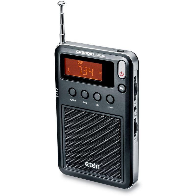 ĐÀI RADIO SIÊU MỎNG  NEW GRUNDIG ETON  MINI  NGWMINIB