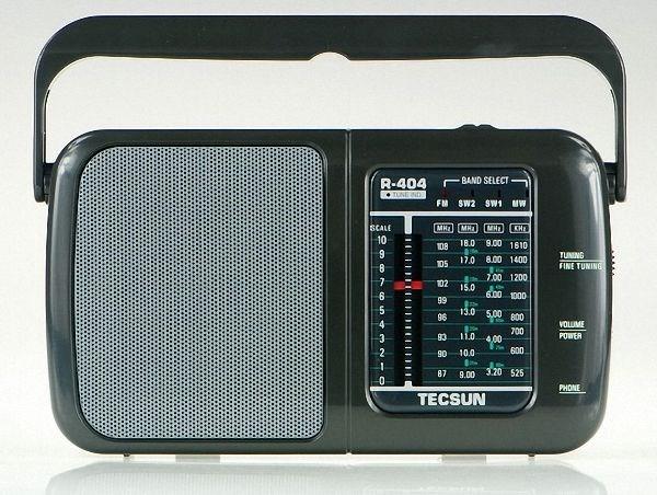 ĐÀI RADIO FM /AM/ SW TECSUN R-404