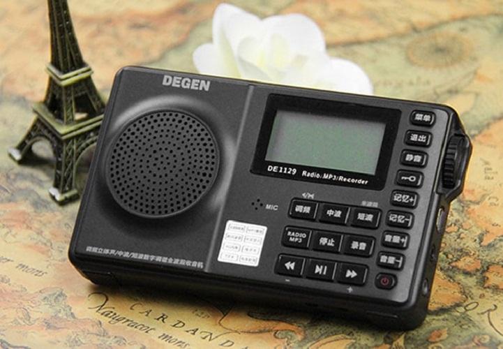ĐÀI RADIO NGHE NHẠC MP3 CAO CẤP  DEGEN DE-1129