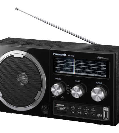 ĐÀI RADIO FM USB PANASONIC RF-800U (mp3)