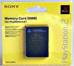 THẺ NHỚ MEMORY CARD 8MB CHO PS2