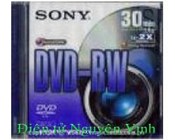 ĐÍA  SONY DVD-RW  MINI CHO HANDYCAM (1.4GB/2X)