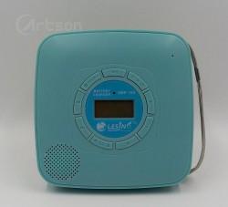 MÁY NGHE ĐĨA CD  MINI ĐA CHỨC NĂNG  LESING SMP-185 ( cd, USB, loa tích hợp, pin sạc)