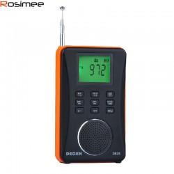 ĐÀI RADIO FM NGHE NHẠC MP3 CAO CẤP DEGEN DE26