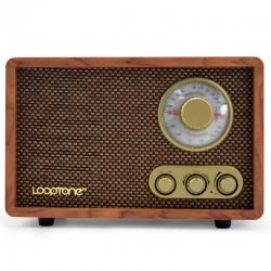 ĐÀI RADIO AM/ FM ĐẶT BÀN VỎ GỖ CỔ ĐIỂN LOOPTONE DSY-R08 BLUETOOTH