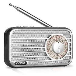 ĐÀI RADIO AM/FM NGHE NHẠC USB CAO CẤP MINI CỔ ĐIỂN R-922