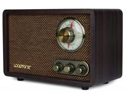 ĐÀI RADIO AM/ FM ĐẶT BÀN VỎ GỖ GIẢ CỔ  NEW DSY-R08 BLUETOOTH