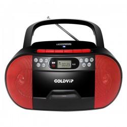ĐÀI ĐĨA CD,ĐÀI CD HỌC NGOẠI NGỮ  USB , BLUETOOTH, CASSETTE  GOLDYIP X2