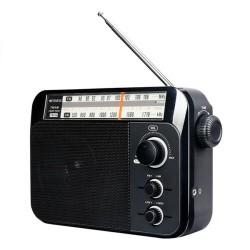 ĐÀI RADIO CẮM ĐIỆN RETEKESS TR604  CHẠY 3 PIN ĐẠI
