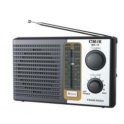ĐÀI RADIO PIN ĐẠI CẮM ĐIỆN CMiK MK-10