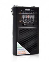 ĐÀI RADIO MINI NGHE NHẠC DEGEN DE32 CAO CẤP