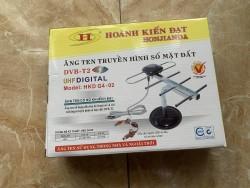 ANTEN TRONG NHÀ CAO CẤP CÓ KHUYẾCH ĐẠI HKD G4-02 cho tivi và đầu thu DVB-T2