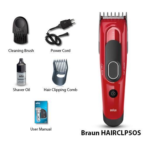 Tông đơ cắt tóc BRAUN OLD SPICE CLP50S