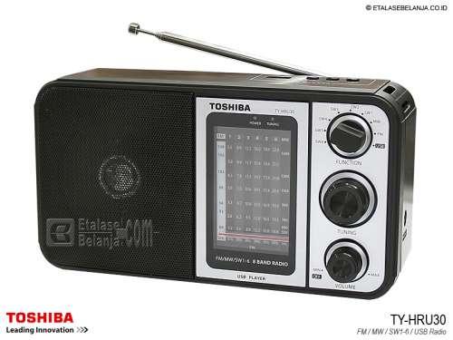 ĐÀI RADIO USB TOSHIBA TY-HRU30 FM/AM/SW1-6/