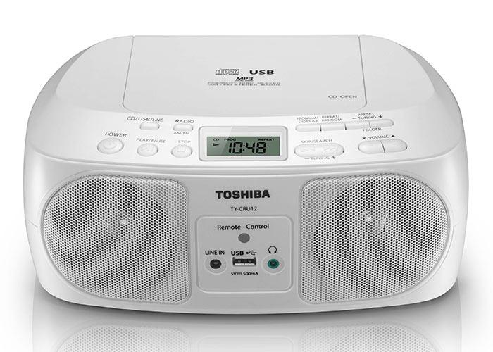 ĐÀI ĐĨA CD USB, RADIO  TOSHIBA TY-CRU12 ( usb)