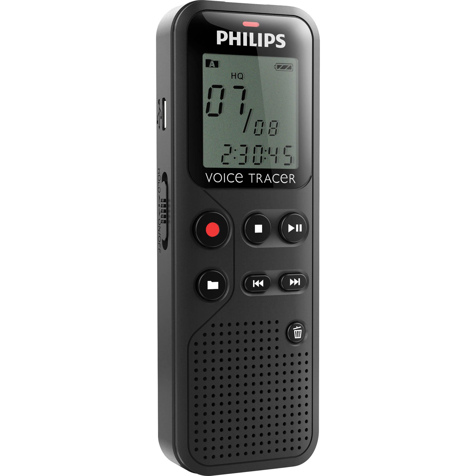 MÁY GHI ÂM PHILIPS VOICE TRACE DVT-1100