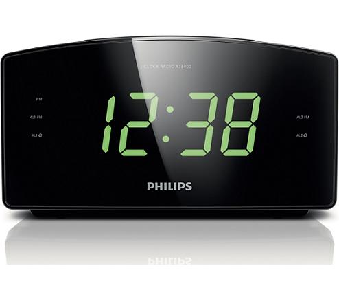 ĐÀI RADIO ĐỒNG HỒ BÁO THỨC PHILIPS AJ-3400