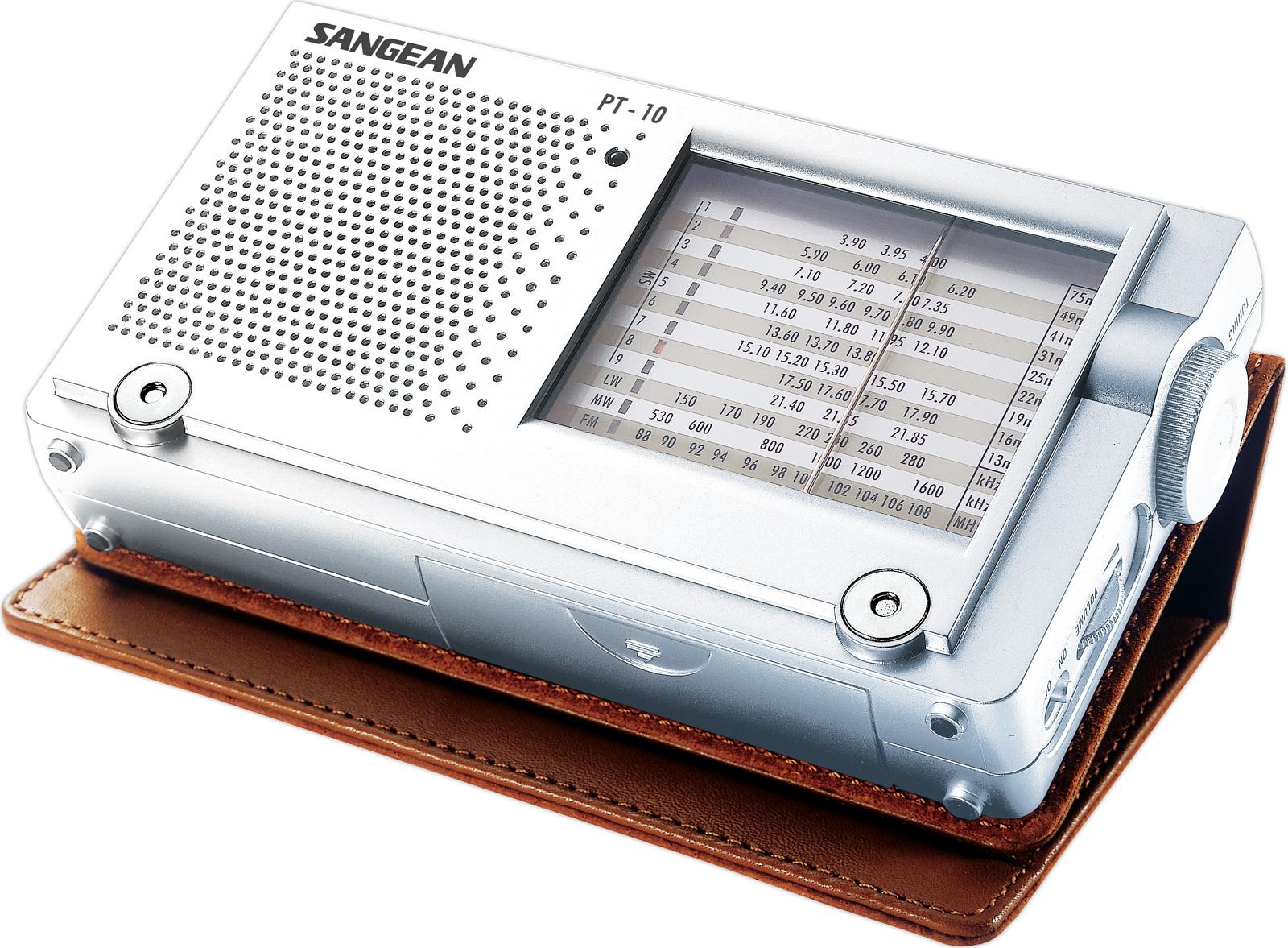 ĐÀI RADIO SANGEAN PT-10 thương hiệu Mỹ