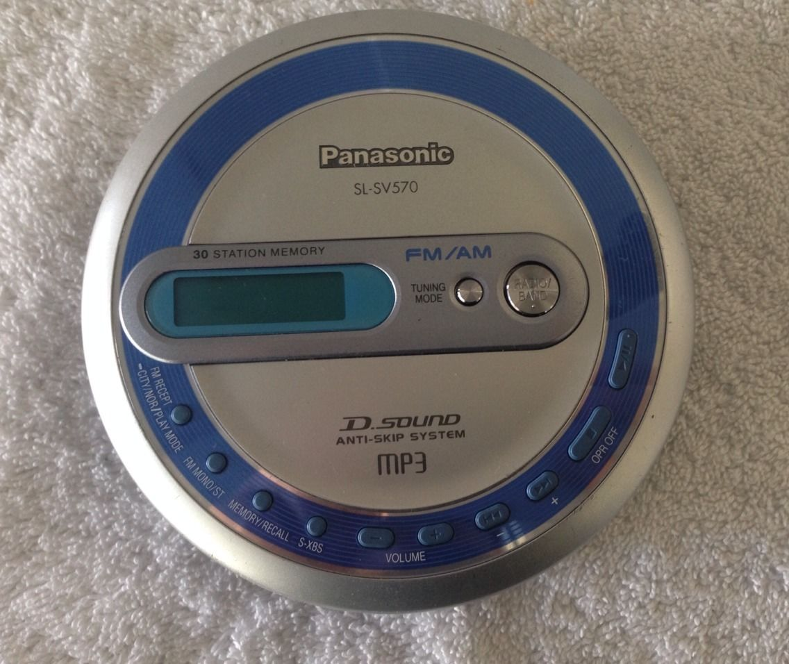 MÁY NGHE ĐĨA CD WALKMAN PANASONIC SL-SV570 / SL SV573J MP3