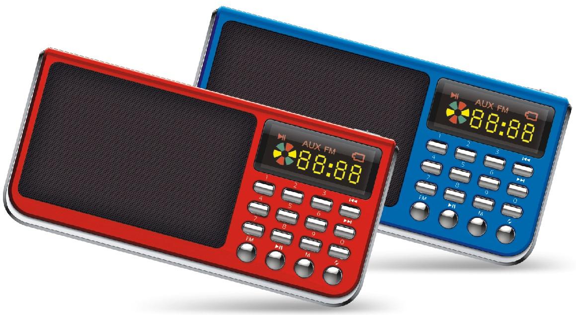 ĐÀI FM Nghe Nhạc USB Thẻ Nhớ  AIBO UN55