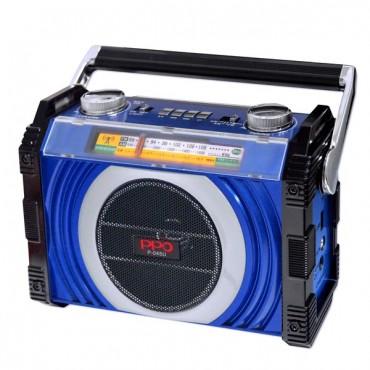 ĐÀI RADIO USB/MP3 3 băng tần AM/FM/SW PPO P-045U