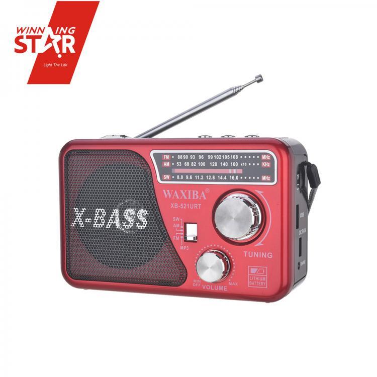 ĐÀI RADIO USB NGHE NHẠC WAXIBA XB-521URT
