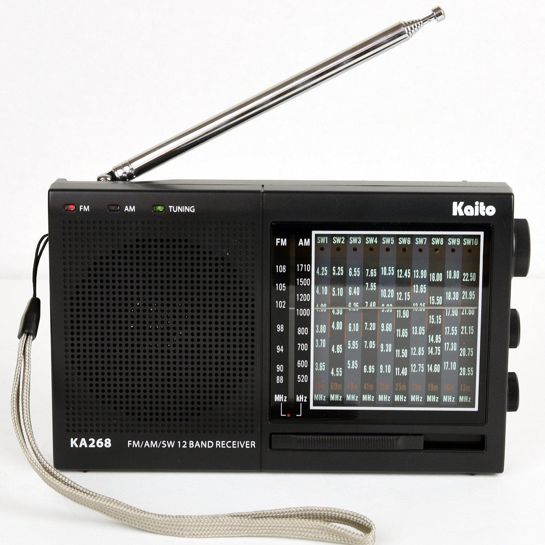 ĐÀI RADIO 12 BĂNG KAITO KA-268 thương hiệu Mỹ